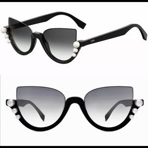 Fendi Pearl ribbon sunglasses